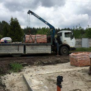 Доставка кирпича Харьков